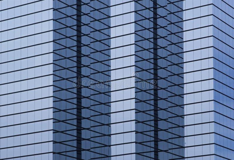 Edificio per uffici corporativo di ciao-aumento moderno fotografie stock libere da diritti