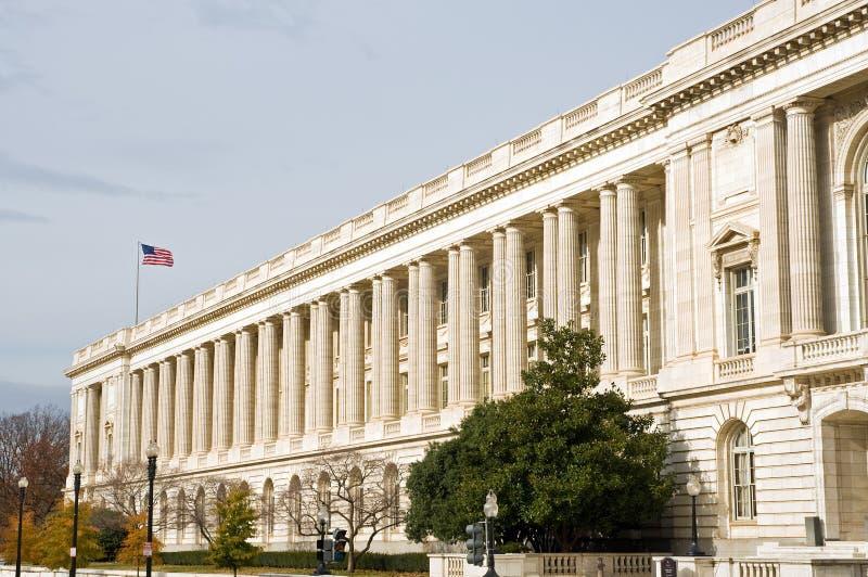 Edificio per uffici del senato degli Stati Uniti fotografia stock libera da diritti