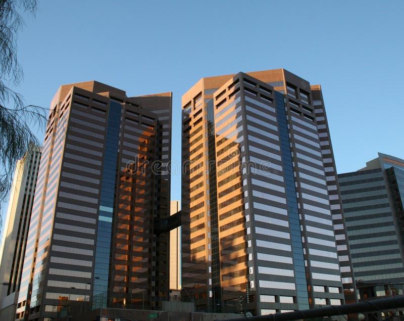 Edificio per uffici di Phoenix fotografia stock libera da diritti