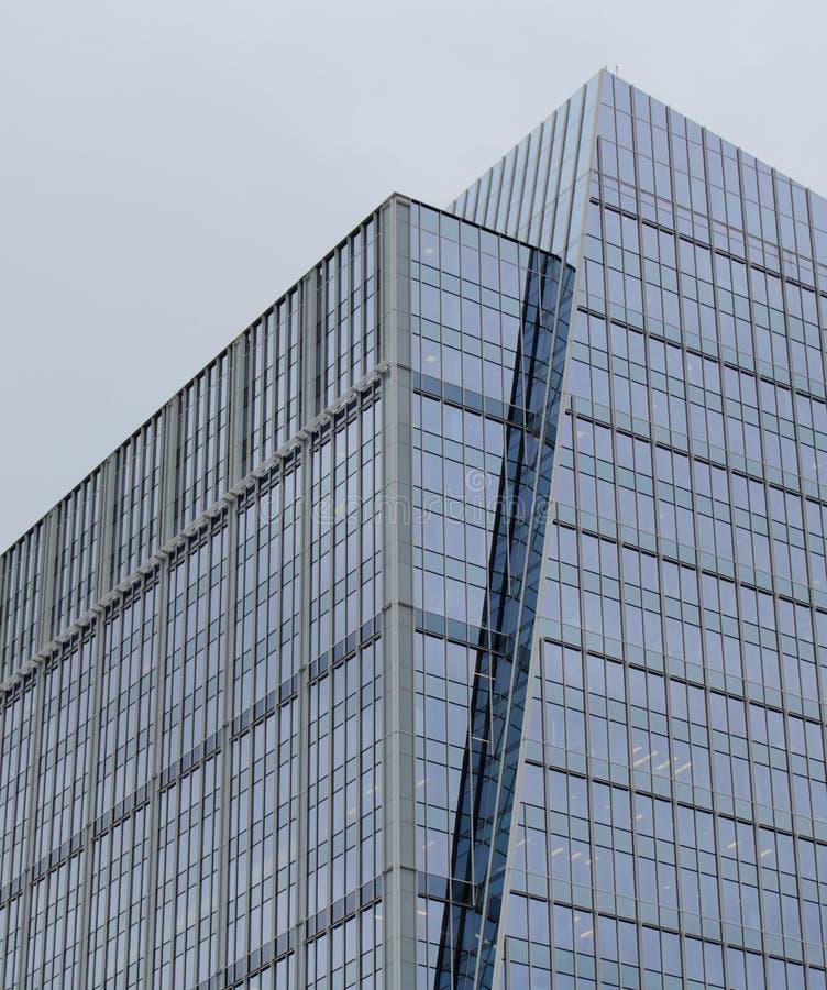 Edificio per uffici di vetro immagine stock