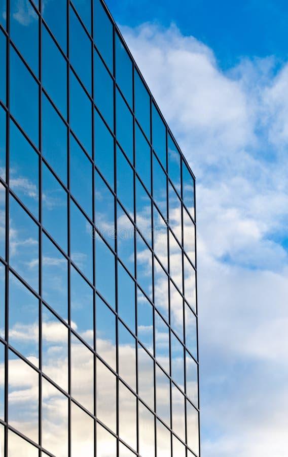 Edificio per uffici di vetro fotografie stock