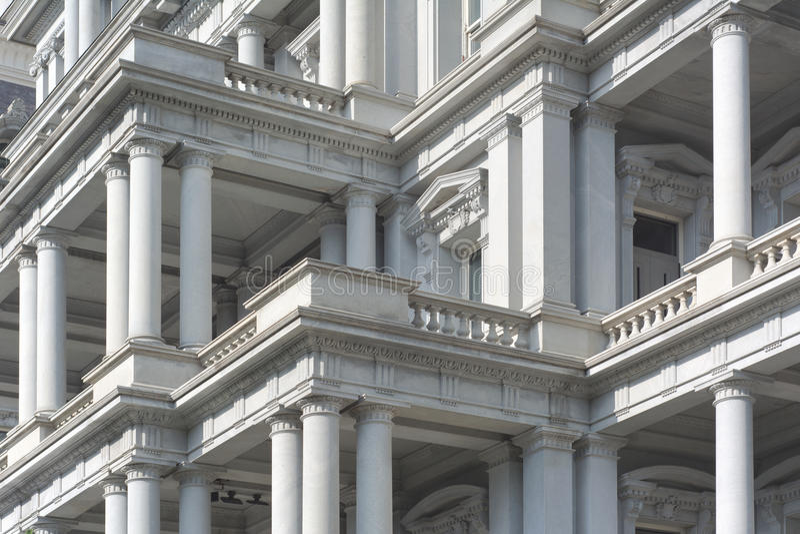 Edificio per uffici esecutivo del Eisenhower fotografia stock