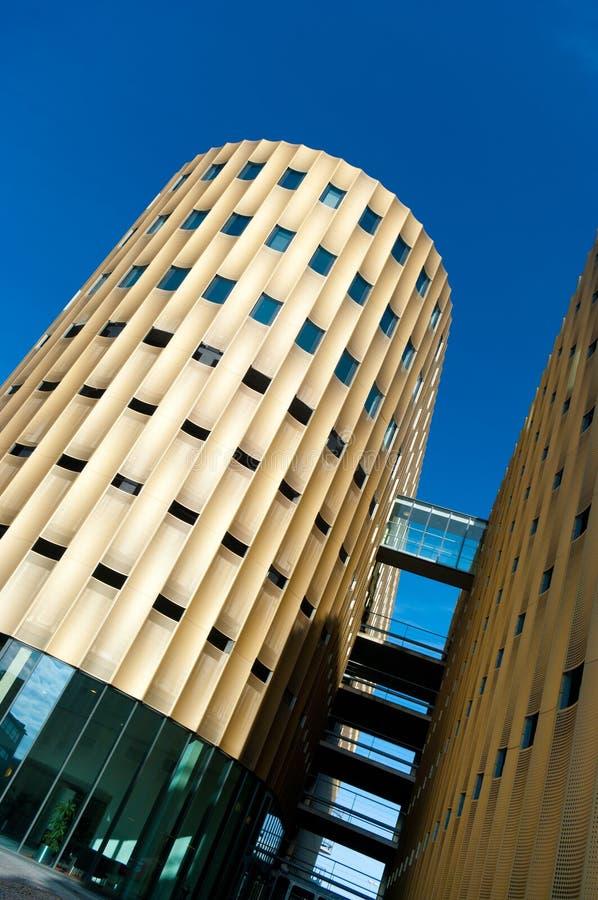 Edificio per uffici moderno fotografie stock libere da diritti