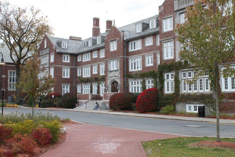 Edificio politécnico del instituto de Worcester fotos de archivo libres de regalías