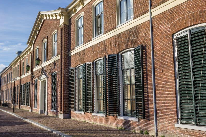 Edificio principal de la universidad anterior de Franeker fotos de archivo libres de regalías