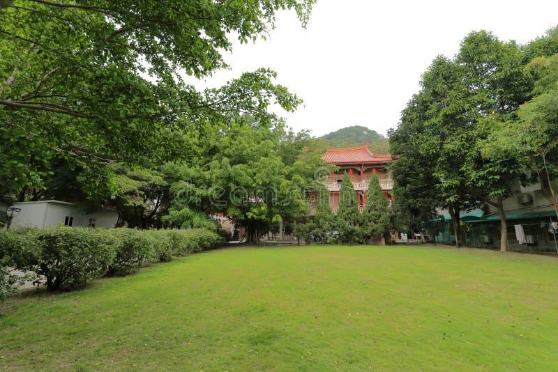 Edificio principal de la universidad budista del sur de Fujian (instituto budista minnan) fotos de archivo