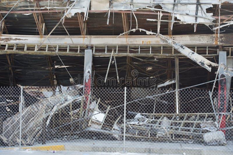 Edificio rápido del viaje en Ferguson, MES imagenes de archivo