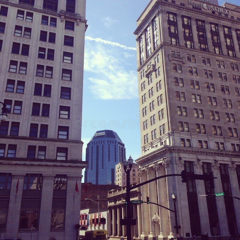 Edificio R2D2 foto de archivo libre de regalías