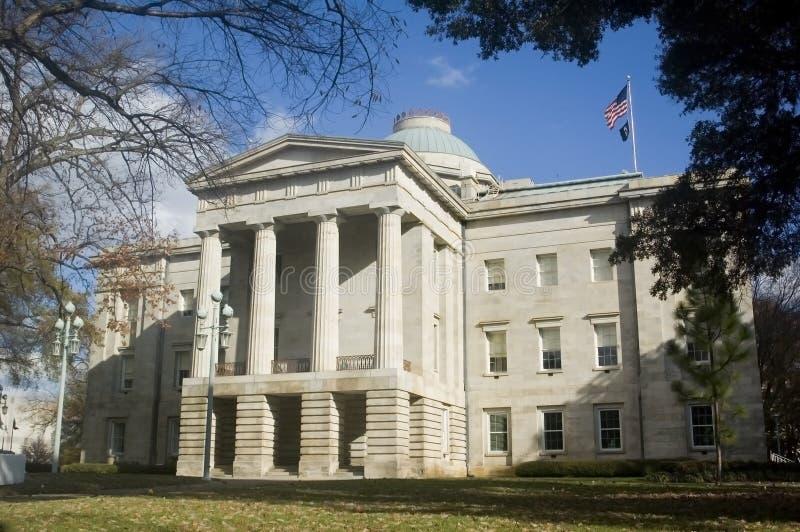 Edificio Raleigh Carolina del Norte del capitolio fotografía de archivo libre de regalías