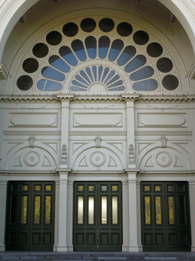 Edificio real de la exposición, Melbourne, Australia imagen de archivo