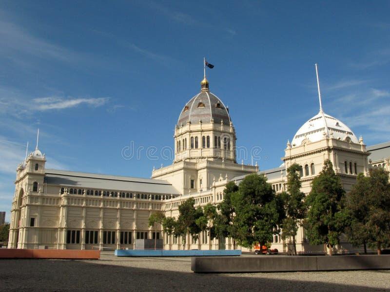 Edificio real de la exposición, Melbourne, Australia imagenes de archivo