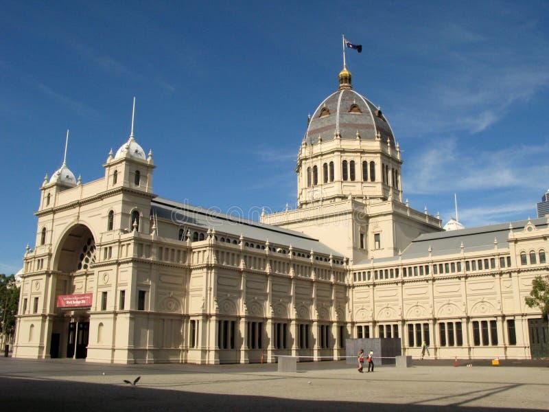 Edificio real de la exposición, Melbourne, Australia imagen de archivo libre de regalías