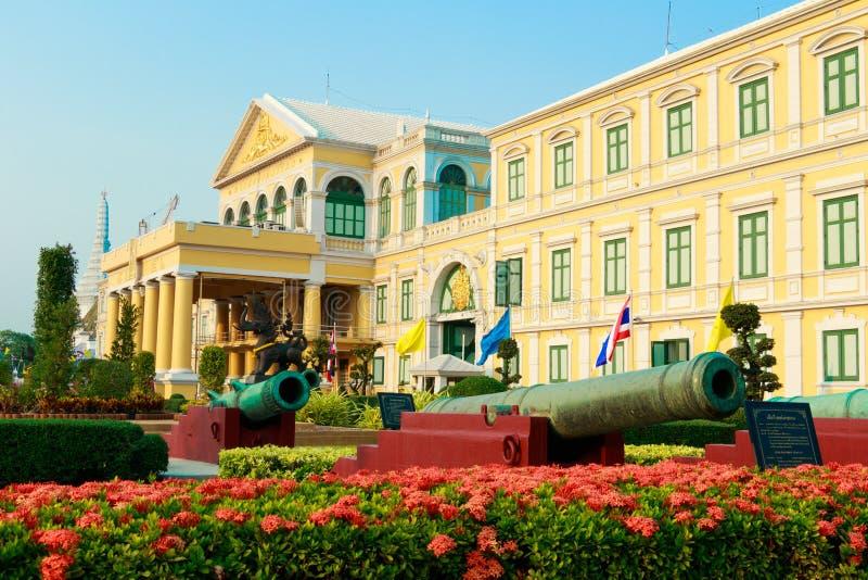 Edificio redondo Ministerio de el edificio de Defensa fotografía de archivo