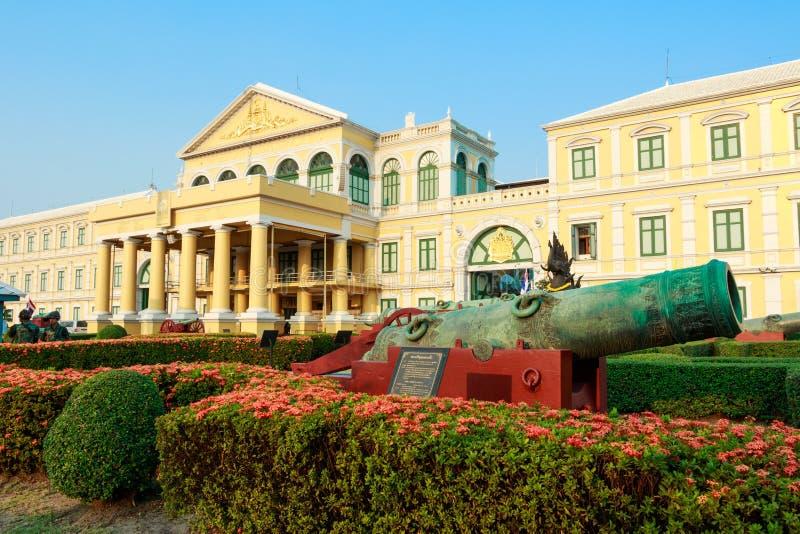 Edificio redondo Ministerio de el edificio de Defensa fotografía de archivo libre de regalías