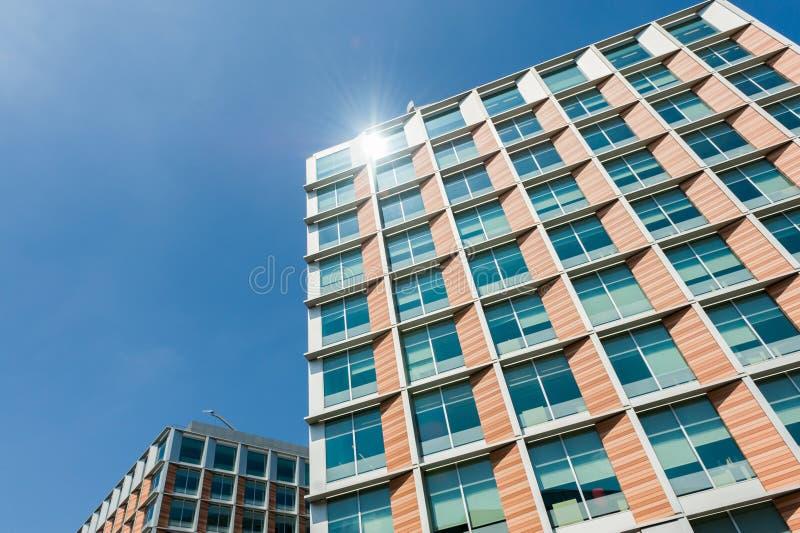 Edificio residencial fotos de archivo