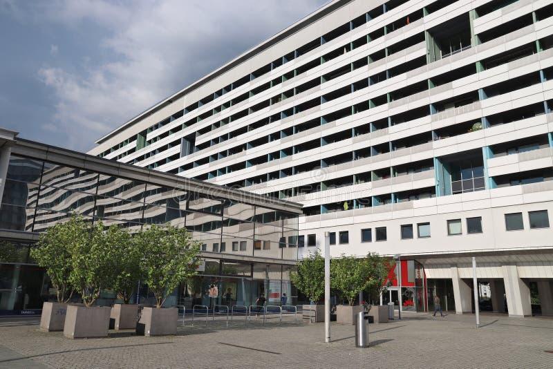 Edificio residencial de Alemania imagen de archivo libre de regalías