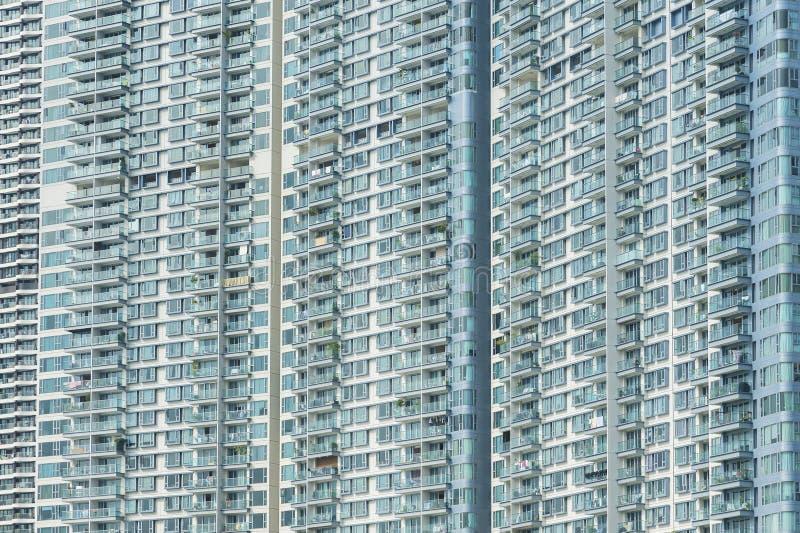 Edificio residencial de la alta subida fotos de archivo libres de regalías