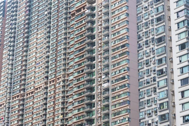 Edificio residencial de la alta subida imagen de archivo libre de regalías