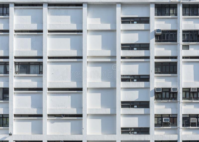 Edificio residencial de la alta subida en Hong Kong foto de archivo