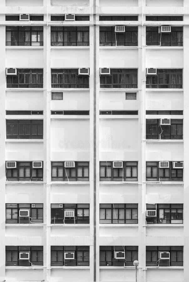 Edificio residencial de la alta subida en Hong Kong fotografía de archivo