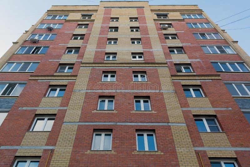 Edificio residenziale Multi-storey fotografie stock libere da diritti