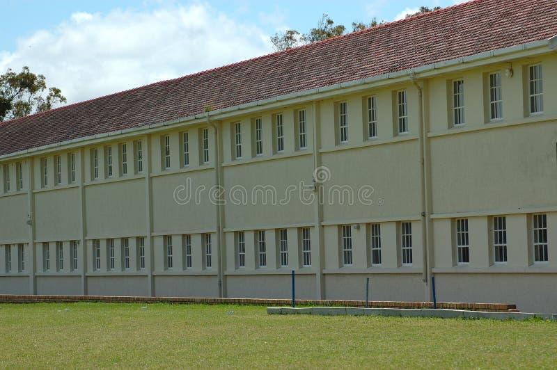 Edificio scolastico fotografia stock libera da diritti