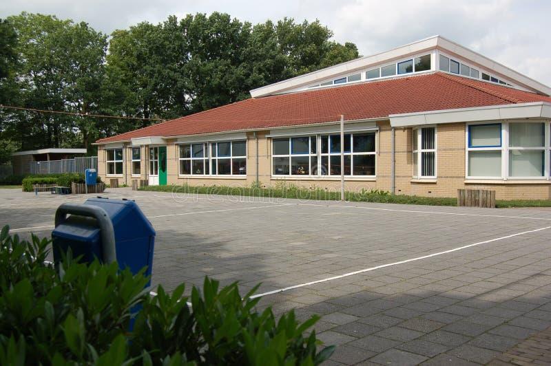 Edificio scolastico primario fotografie stock libere da diritti