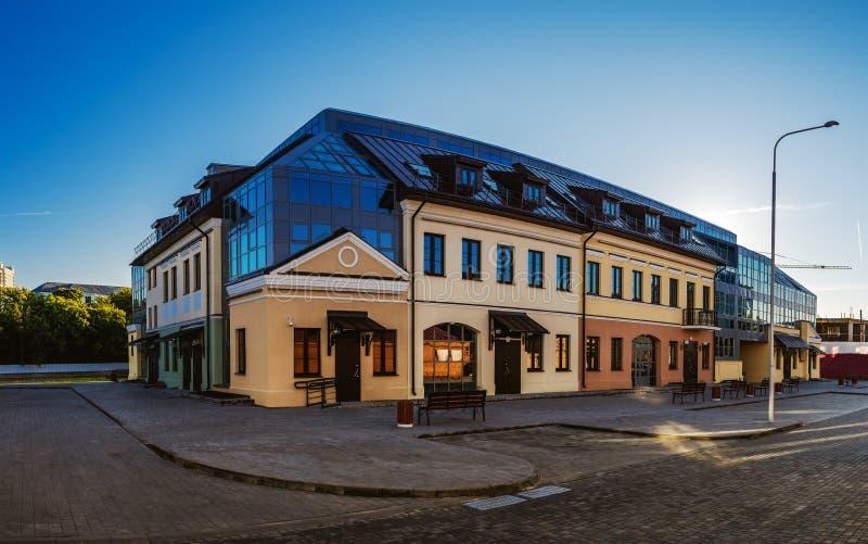edificio Soviet-construido en Minsk, Bielorrusia imágenes de archivo libres de regalías