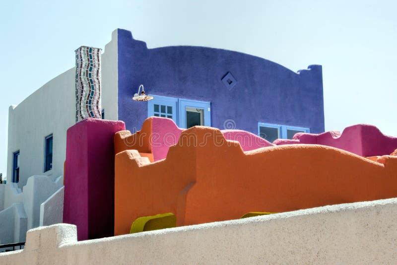 Edificio variopinto di Tucson immagine stock