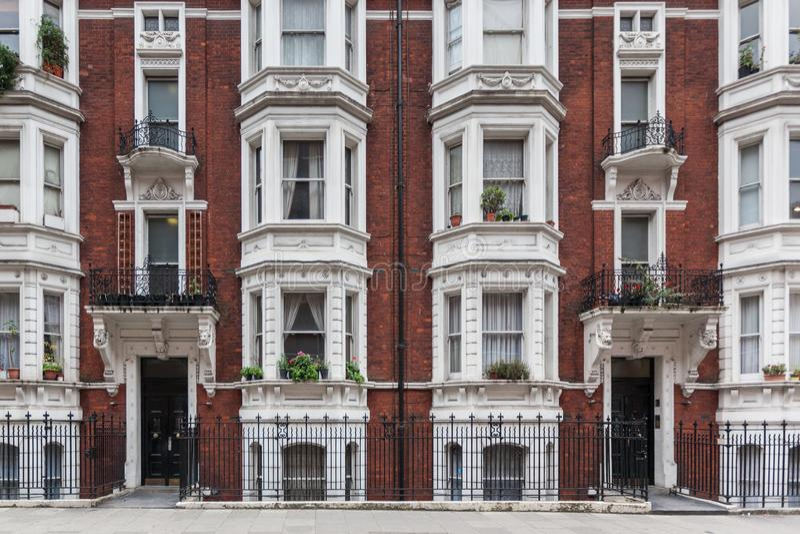 Edificio victoriano en Londres imágenes de archivo libres de regalías