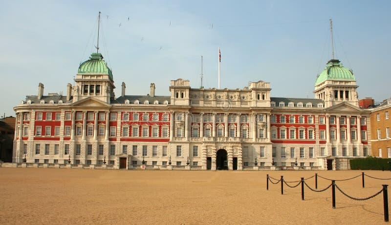Edificio viejo del Ministerio de marina, Londres, Westminster imágenes de archivo libres de regalías