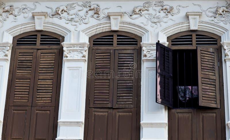 Edificio viejo en Phuket foto de archivo libre de regalías