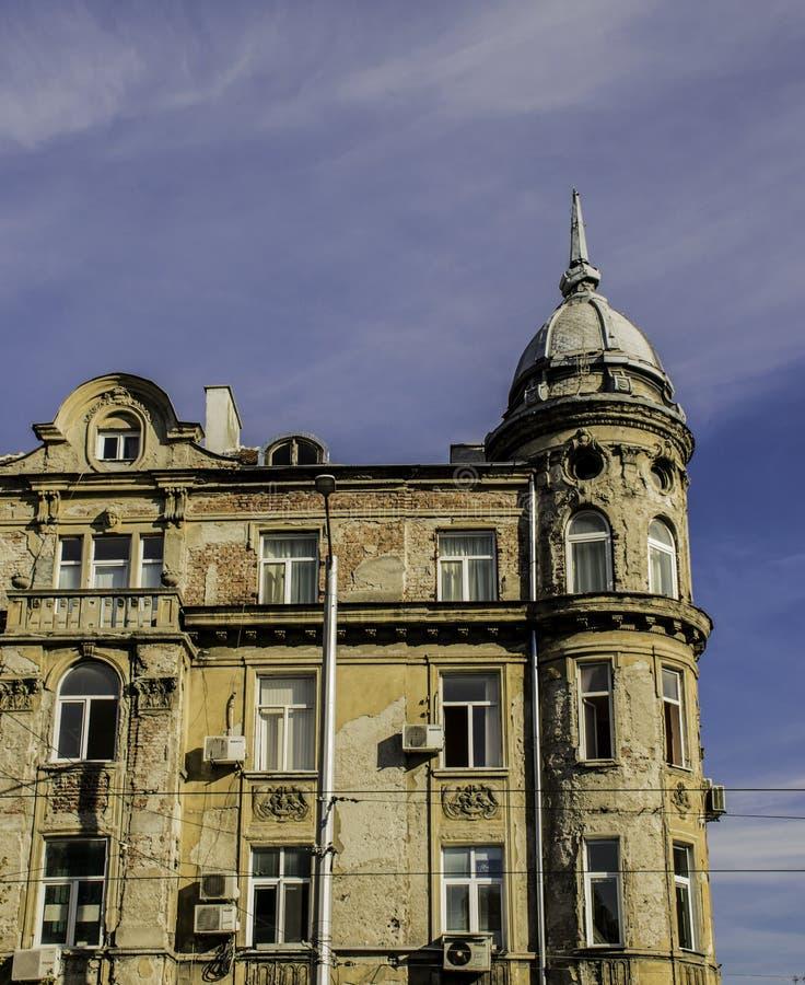 Edificio viejo en Sofía, Bulgaria imagen de archivo libre de regalías