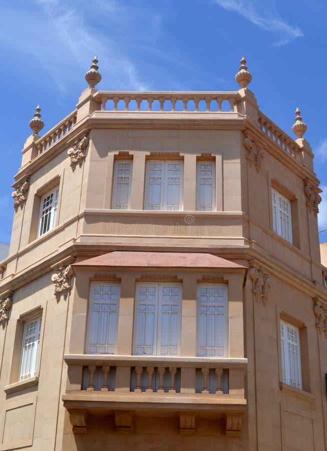 Edificio viejo Tenerife imagen de archivo