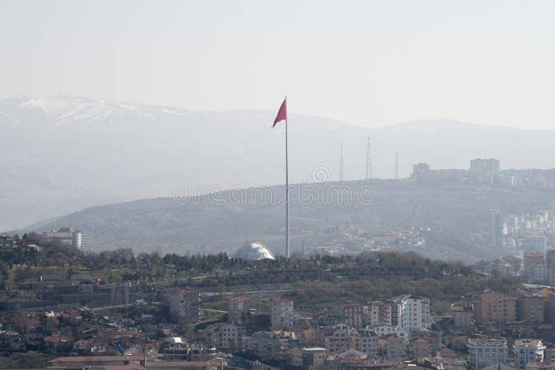 Edificio y casa del pavo de Ankara fotos de archivo