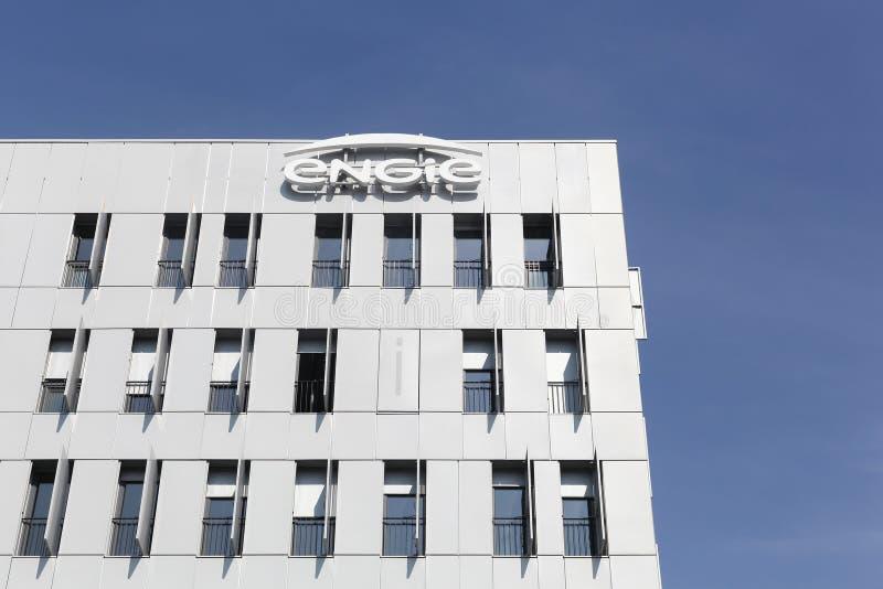 Edificio y oficinas de Engie foto de archivo