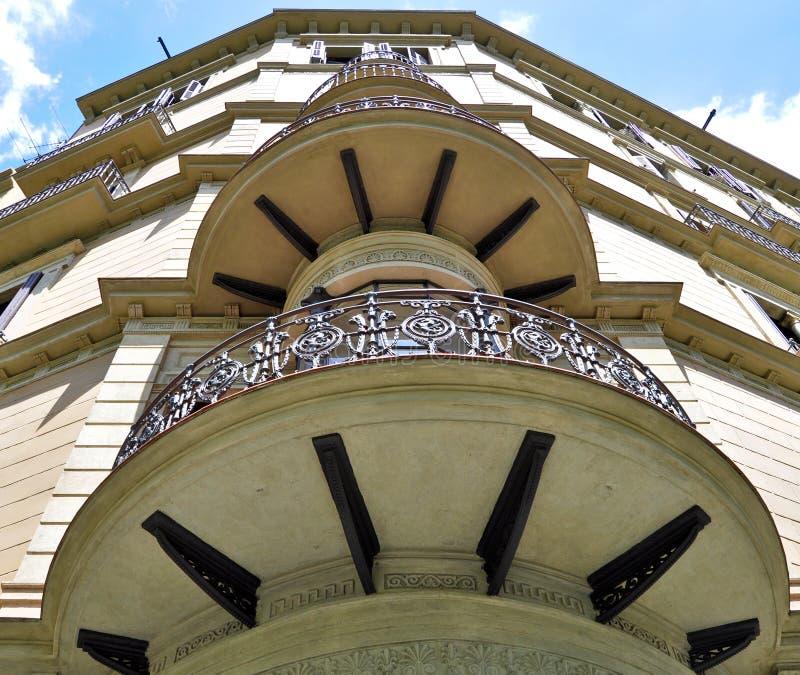 Edificiomodernista - Barcelona España stock afbeelding