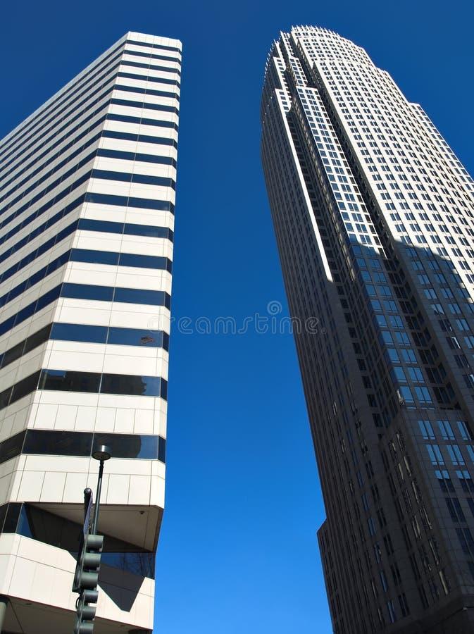 Edificios altos foto de archivo libre de regalías
