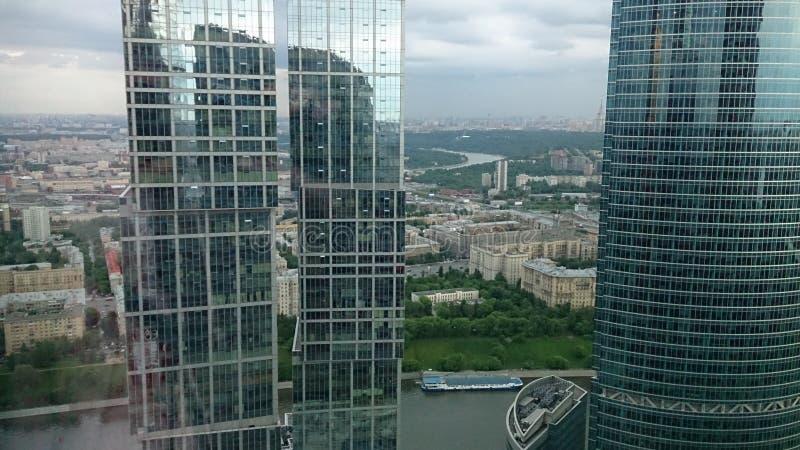 Edificios altos del capital: Moscú y St Petersburg, imperio fotos de archivo libres de regalías