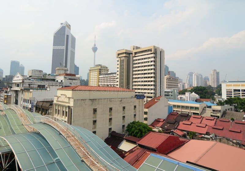 Edificios altos en Bangkok, Tailandia imágenes de archivo libres de regalías