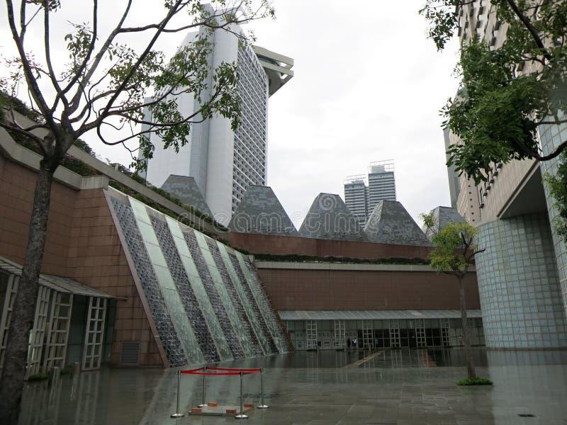 Edificios altos modernos Arquitectura y arte en la civilización moderna fotografía de archivo