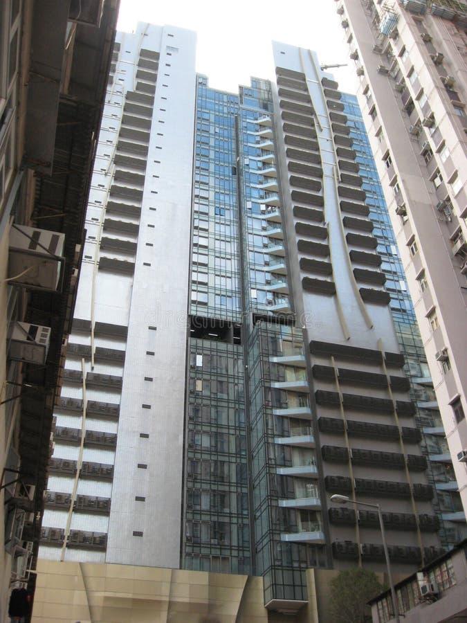 Edificios altos modernos en la isla central, principal, Hong Kong fotos de archivo