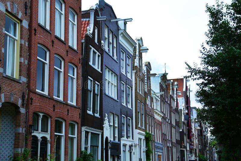 Edificios Amsterdam, Países Bajos imagen de archivo