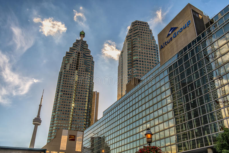 Edificios céntricos de Toronto