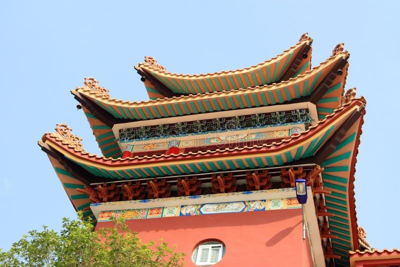 Edificios Chinos Fotos de archivo