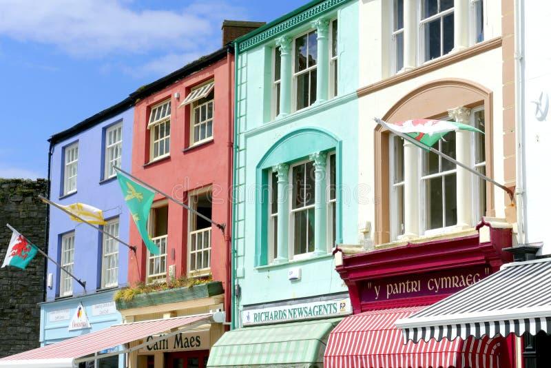 Edificios coloridos foto de archivo libre de regalías