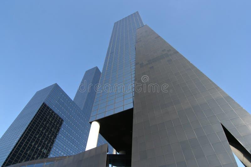Edificios corporativos fotos de archivo