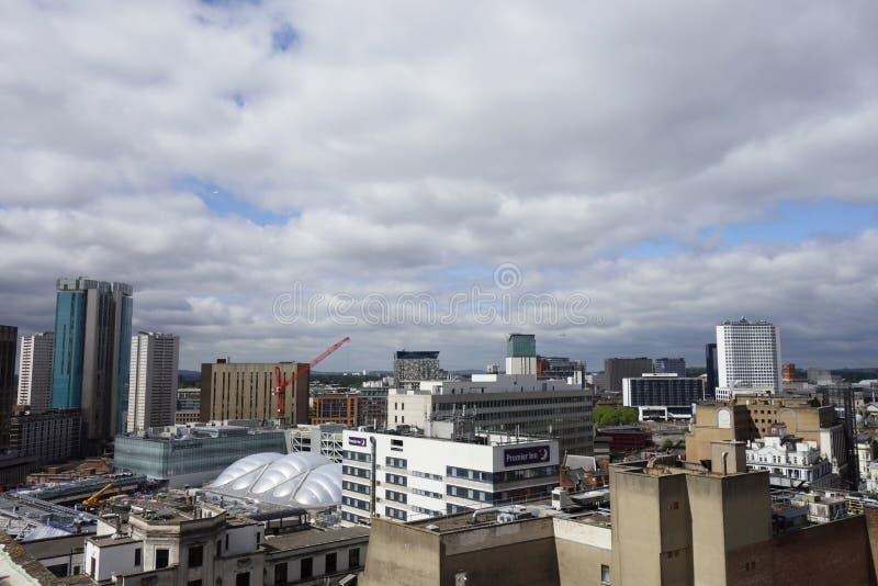 Edificios de Birmingham imagen de archivo