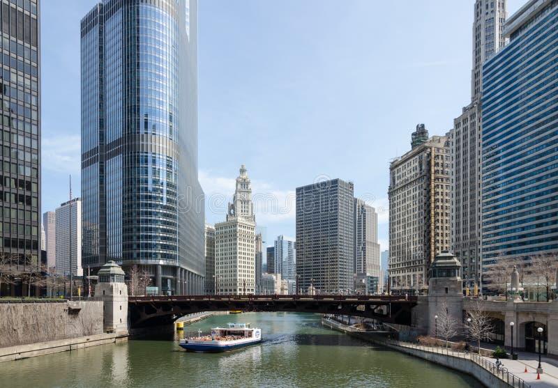 Edificios de Chicago imagen de archivo