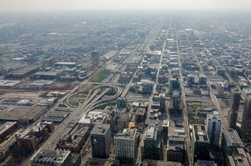 Edificios de Chicago imagen de archivo libre de regalías